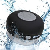 Bluetooth Waterbestendige Douche/Bad Mp3 Speaker/Radio - Zwart