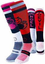 WackySox Engel & Duivel sokken Multi 35-40