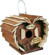Vogelhuisje - Hartvorm Boomschors
