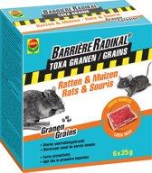 Barrière Radikal Toxa Granen Ratten en Muizen 6X25GR