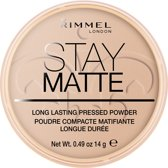 Rimmel London Stay Matte Pressed - 005 Silky Beige - Powder