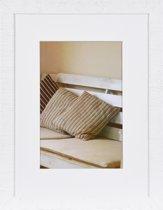 Henzo DRIFTWOOD - Fotolijst - 30 x 40 cm - Fotoformaat 30 x 40 / 20 x 28 cm - Wit