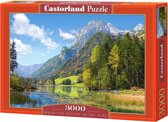 Mountain Refuge in the Alps puzzel 3000 stukjes