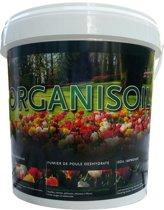 Organisoil Organische Mestkorrels, emmer 10 kg