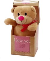 Knuffel - In doosje - I love you