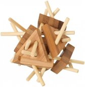 Breinbreker Houten puzzel - Ecologisch - Hoge moeilijkheidsgraad