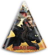 Hoedjes Dragons (6st)