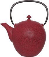 Cosy&Trendy Pear Theepot - 1 l -Gietijzer - Rood
