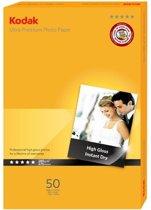 Kodak Ultra Premium - Inkjet fotopapier - 50 Vel Glossy