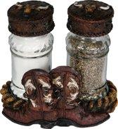 cowboy laars peper en zout stel