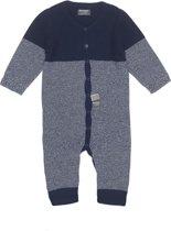 Snoozebaby Unisex Boxpakje - Suit knitted Indigo Blue - Maat 56