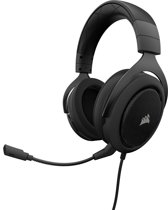 Corsair HS50 Gaming Headset - Carbon Zwart - PC