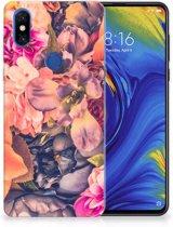 Xiaomi Mi Mix 3 TPU Case Bosje Bloemen