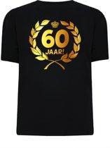 Gouden Krans T-Shirt - 60 jaar (maat xl)