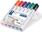Lumocolor whiteboardmaker 6 kleurenbox