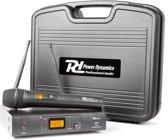Power Dynamics PD781 Draadloos Microfoon Systeem UHF 1x 8-Kanaals Microfoon