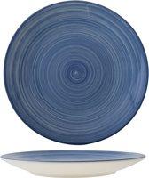 Cosy&Trendy Turbo Blue Diner Bord - Ø 27 cm - Set-6
