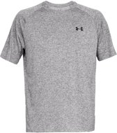 Under Armour Tech 2.0 SS Tee Sportshirt Heren - Charcoal Light Heather - Maat XL