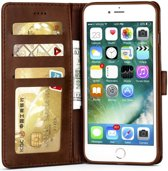 Apple iPhone 6(S) Portemonnee Hoesje Splitleer Bruin