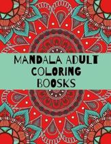 Mandala Adult Coloring Boosks