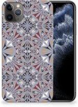 TPU Siliconen Hoesje iPhone 11 Pro Max Bloemen