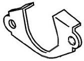 Yamaha/Parsun Plate, Intake Silencer (66M-14477-00)