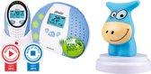 Alecto DBX-88 ECO Refurbished| Babyfoon met gratis nachtlampje | Kleurvervaging op de babyfoon