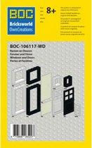 BOC-106117-W Ramen en deuren set