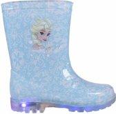 Blauwe Frozen regenlaarzen voor meisjes 28