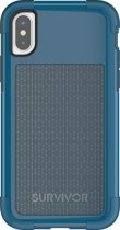 Griffin Blauw Survivor Fit Case iPhone X