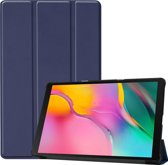Samsung Galaxy Tab A 10.1 (2019) Hoes Book Case Hoesje - Donker Blauw