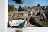 Fotobehang vinyl - De ruïnes van Pompeï in Italië breedte 390 cm x hoogte 260 cm - Foto print op behang (in 7 formaten beschikbaar)