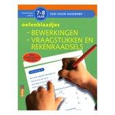 Tijd Voor Huiswerk - Oefenblaadjes bewerkingen vraagstukken en rekenraadsels  7-8 jaar