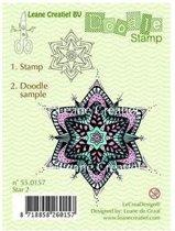 LeCrea - Doodle stempel Star 2 55.0157