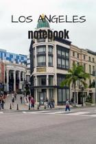 Los Angeles Notebook: A cool Los Angeles Photo Cover Notebook - Journal - Planner - Diary - Travel Notebook - 6x9 - 120 Pages - Wide Ruled L