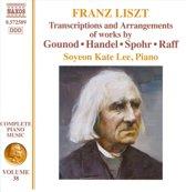 Liszt,Transcriptions Of Pieces By Handel, Gounod,