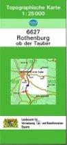 Rothenburg ob der Tauber 1 : 25 000
