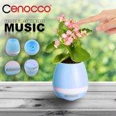 Cenocco CC-9043; Slimme en muzikale pot - WIT - BLAUW