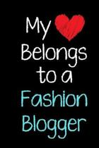 My Heart Belongs to a Fashion Blogger