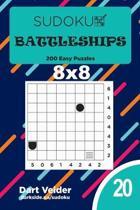 Sudoku Battleships - 200 Easy Puzzles 8x8 (Volume 20)