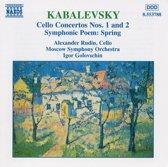 Kabalevsky: Cello Concertos no 1 & 2, etc / Rudin, Golovchin