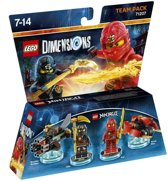 LEGO Dimensions - Team Pack - Ninjago: Cole & Kai (Multiplatform)