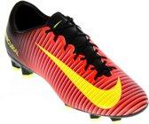 Nike Mercurial Veloce III FG  Voetbalschoenen - Maat 41 - Mannen - rood/geel/zwart