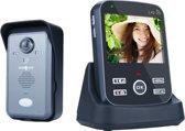 Draadloze camera deurbel met intercom, 3.5