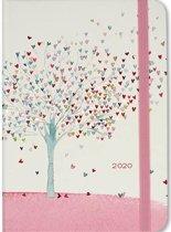 Agenda Tree of Hearts 2019-2020 - Hartjes - 16 maanden