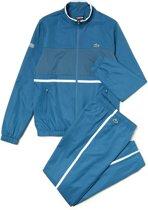 Lacoste Trainingspak - Maat S  - Mannen - blauw/wit