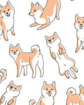 Adorable Shiba Inu - Dot Grid Journal