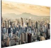 Sao Paulo Brazilie Aluminium 60x40 cm - Foto print op Aluminium (metaal wanddecoratie)