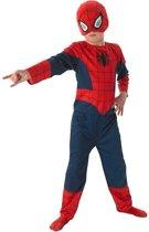 Blauw en rood klassiek Spiderman™ kostuum voor kinderen - Verkleedkleding