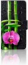 LG Q6 | LG Q6 Plus Boekhoesje Design Orchidee